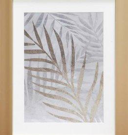 Fleurish Home Gold Finery Wall Art 16x20