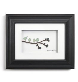 Fleurish Home Four of a Kind Pebble Wall Art 8x10