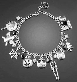 Fleurish Home Fall & Winter Holiday Charm Bracelet