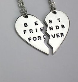 Fleurish Home Best Friends Forever Necklace Set