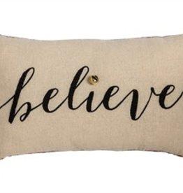 Fleurish Home Believe Lumbar Pillow