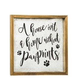 Fleurish Home Pawprints Wall Art