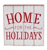 Fleurish Home Home for the Holidays Wooden Wall Art