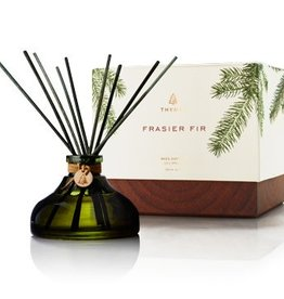 Thymes Frasier Fir Petite Reed Diffuser Green Glass