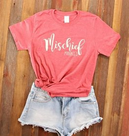 Fleurish Home *last chance* Mischief Managed Quote Tee