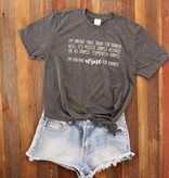 Fleurish Home *last chance* Fruit Salad for DInner Quote Tee