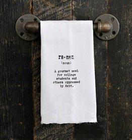 Fleurish Home Quotes Towel Ramen...