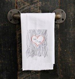 Fleurish Home Quotes Towel You + Me