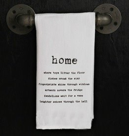 Fleurish Home Quotes Towel Home...