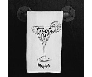 Fleurish Home Quotes Towel Margarita Recipe