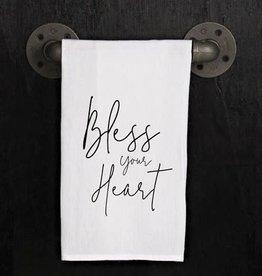 Fleurish Home Quotes Flour Sack Towel Bless Your Heart