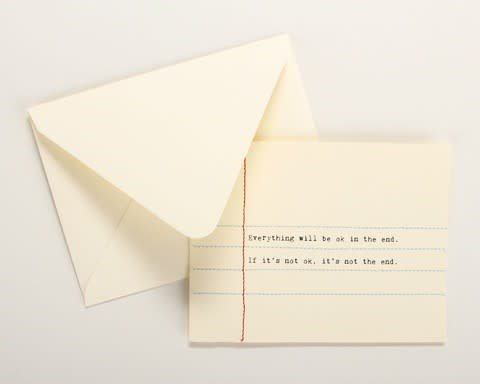 Fleurish Home Hand Sewn Card (various)