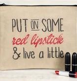 Red Lipstick Travel Bag *last chance