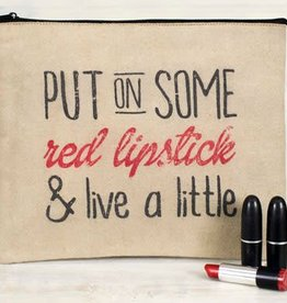 Red Lipstick Travel Bag *last chance