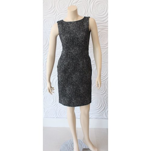 Nora Gardner Nora Gardenr Tweed Sleeveless Dress