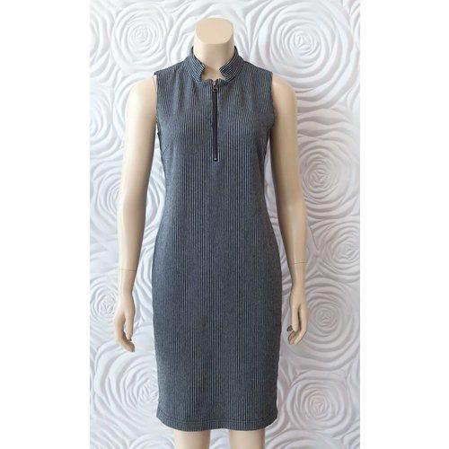 209 West 209 West Sleeveless Striped Dress
