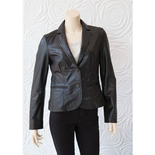 Rino & Pelle RIno & Pelle Leather Blazer Jacket