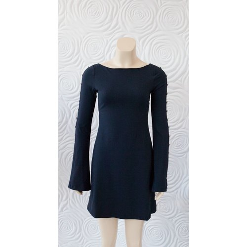 "Susana Monaco Susana Monaco Button Bell Sleeve Dress 19"""