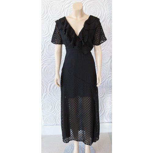 Shilla Shilla Exotic Chiffon Mix Dress