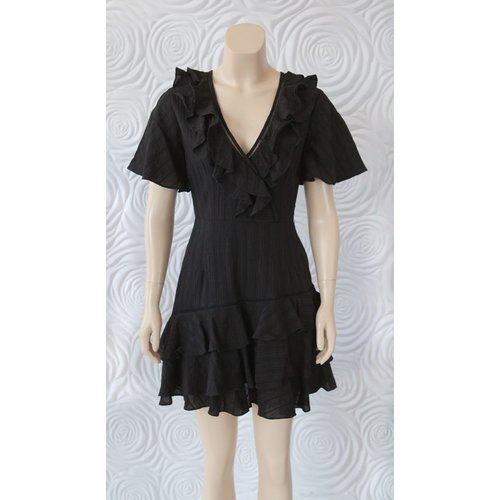 Shilla Shilla Exotic Lace Ruffle Dress