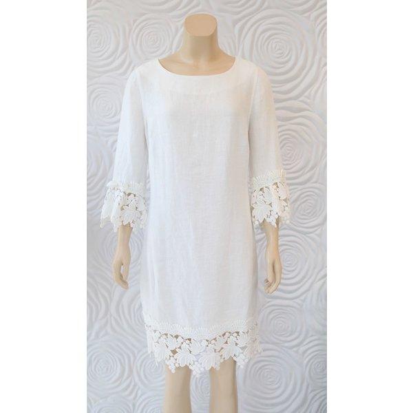 Haris Cotton Midi Linen Dress