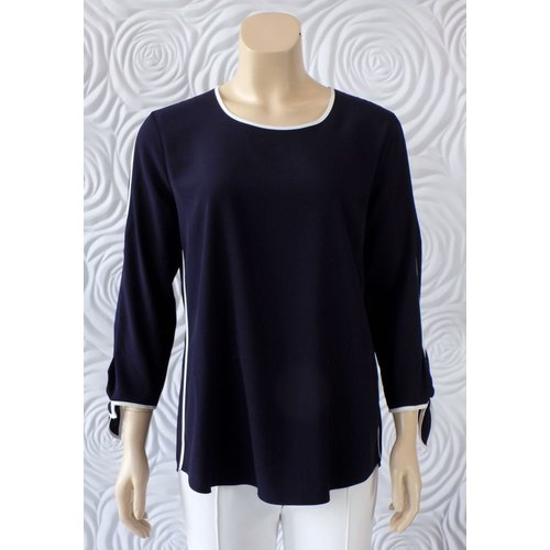 Gerry Weber Gerry Weber 3/4 Blouse w/ Contrasting Details