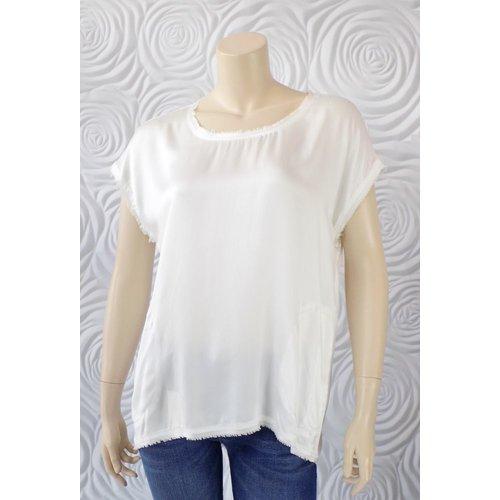 Go Silk Go Silk Over Sized Silk T-Shirt