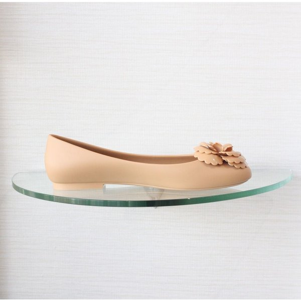 Melissa Ballet Flat with Flower Detail