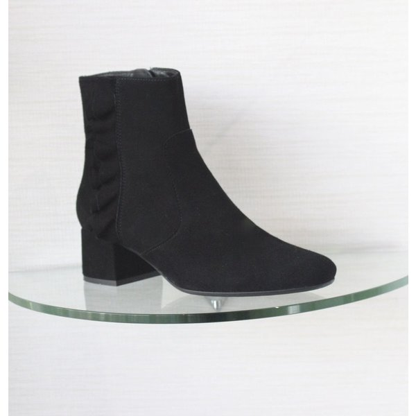 Kanna Ankle Boot with Ruffle Detail