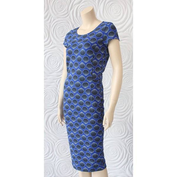 Juffrouw Jansen Shell Print Dress
