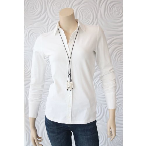 Max Volmary Max Volmary Tailored Stretch Blouse