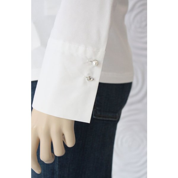 Max Volmary Tailored Stretch Blouse