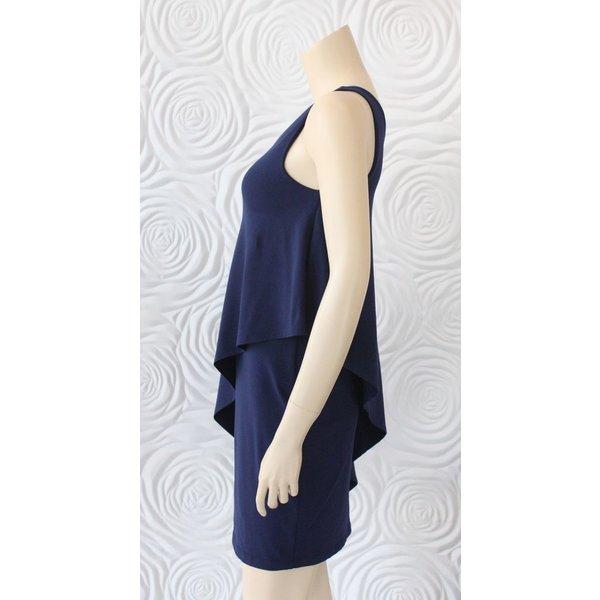 Susana Monaco Asymmetrical Overlay Dress