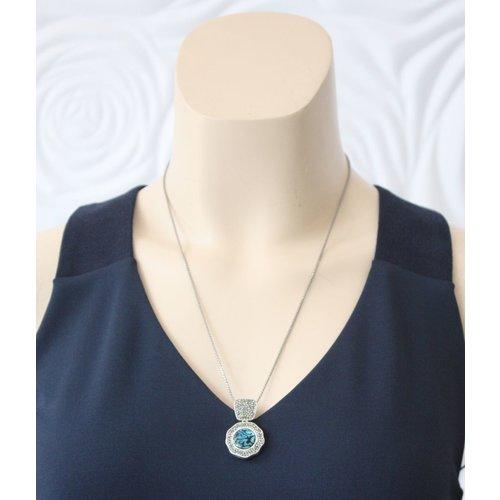 La Costa Abalone Black Diamond Necklace