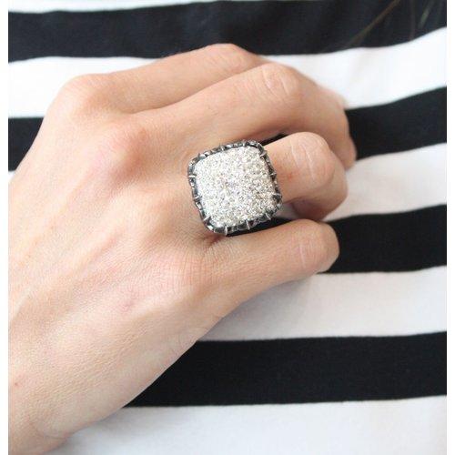 La Costa La Costa Tiara Crystal Ring