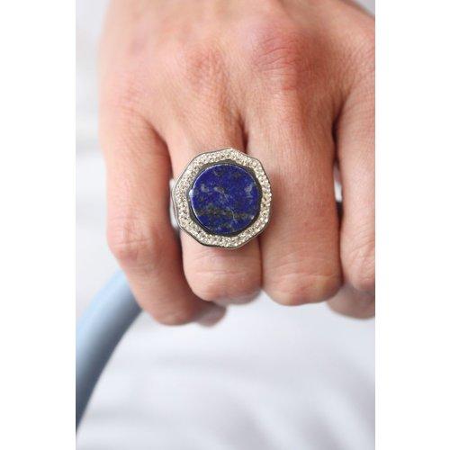 La Costa La Costa Halo Aura Gem Lapis Lazuli Crystal