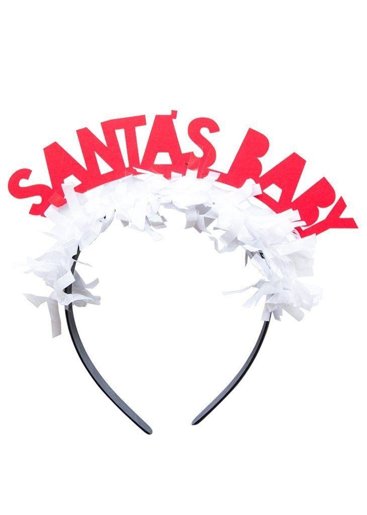 Headband Party Headband - Santa's Baby