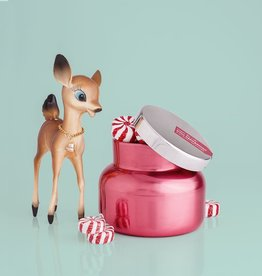 Pink Peppermint Petite Pink Metallic Jar - 8 oz