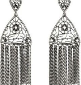 Ana Earring - Antique Silver