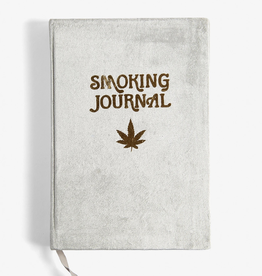 Journal Velvet Smoking Journal - Grey