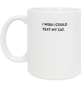 Mug - Cat Text