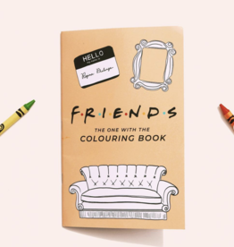 Coloring Book Friends Colouring Book
