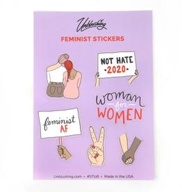 Stickers Feminist Sticker Sheet