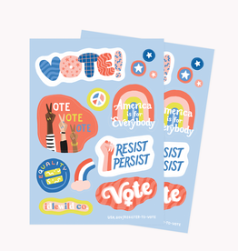 Stickers Vote Stickers
