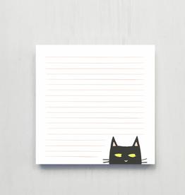 Notepad Shifty Cat Deskpad