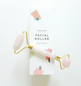 Beauty Facial Roller - Rose Quartz