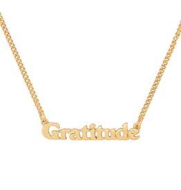 Good Intentions Necklace - Gratitude