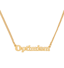 Good Intentions Necklace - Optimism