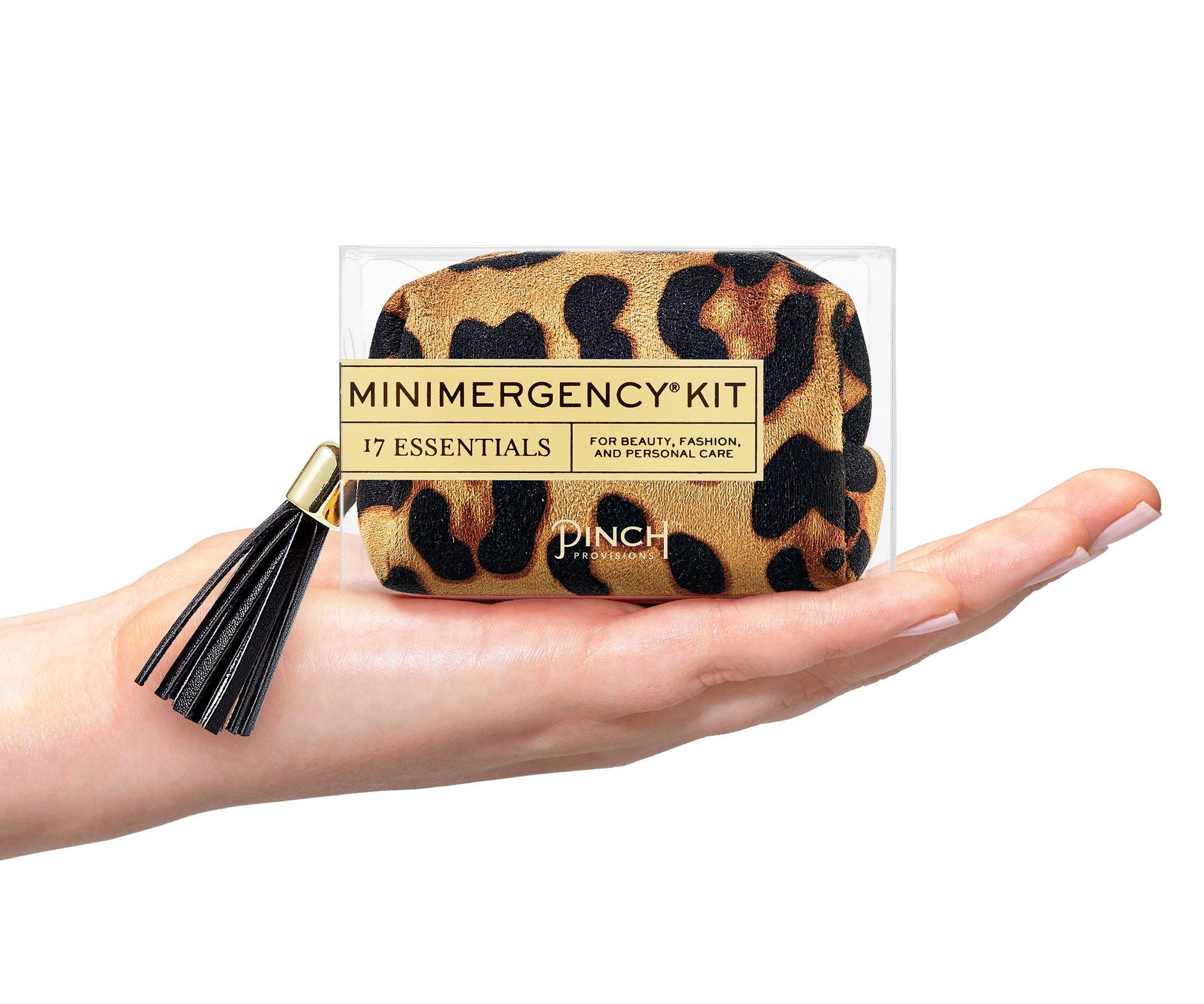 Minimergency Kit - Tan Leopard