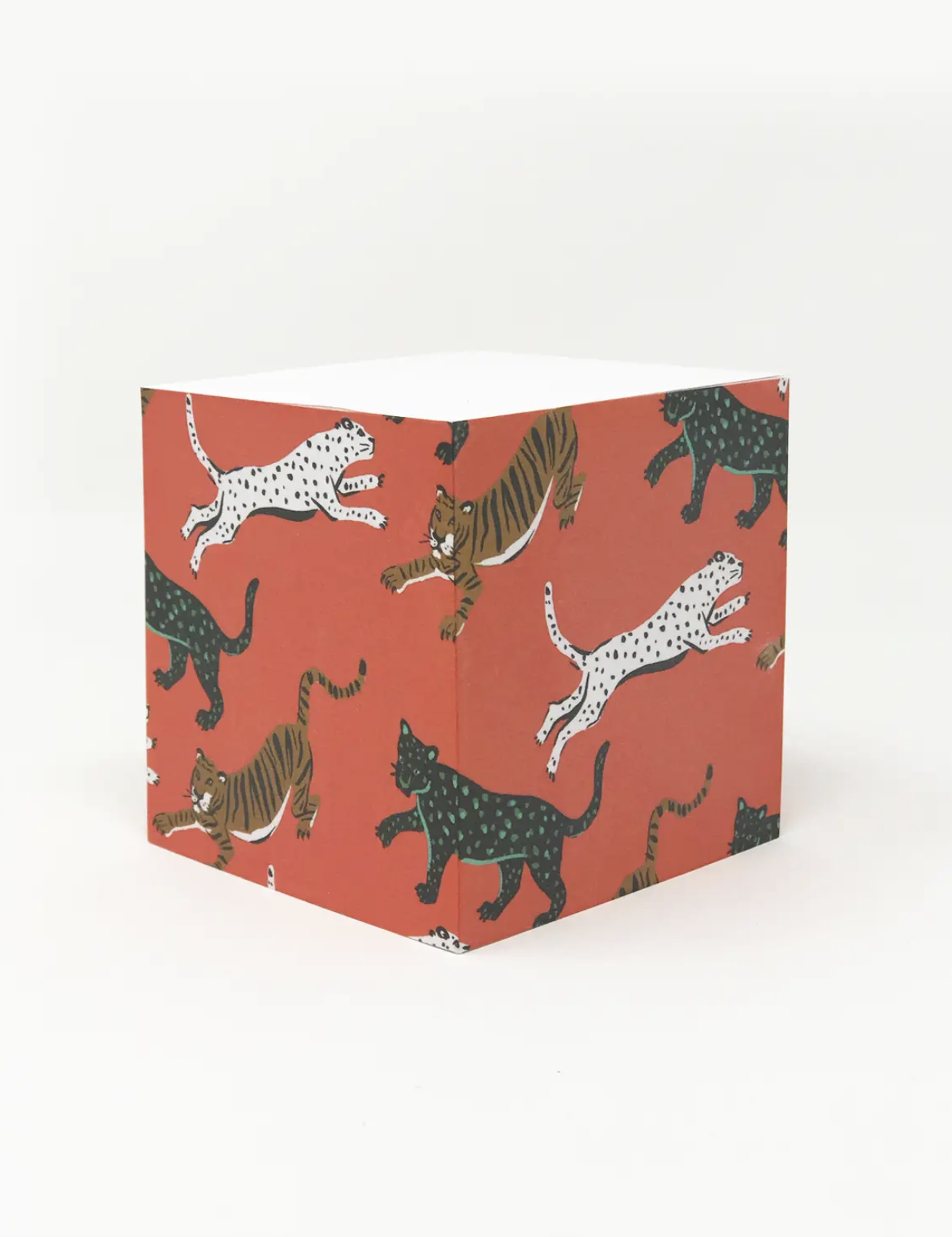 Stationery Wild Cat Sticky Note Cube